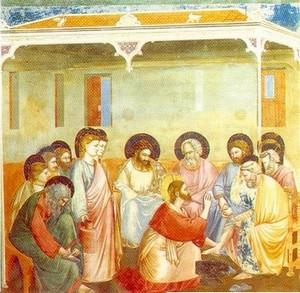 Le lavement des pieds - Fra Angelico