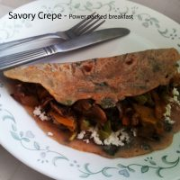 Savory Crepes - Power packed