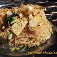 Thai - Rice Vermicelli in peanut sauce