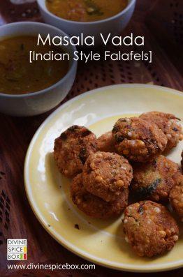 Masala Vada - Indian Style Falafel