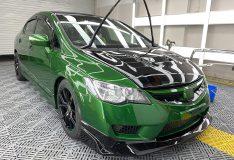 honda civic green fd2 fd green divinesplash.com car spray singapore divine splash spray sg. car spray sg green civic