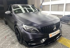 Merc c200 car spray matt black car spray painting divinesplash.com divine splash c200 matt grey car spray