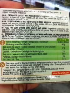 boursiningredients