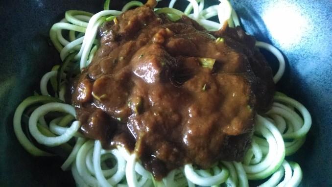 """""""Spaghetti"""" alla Kaffir Marinara"""