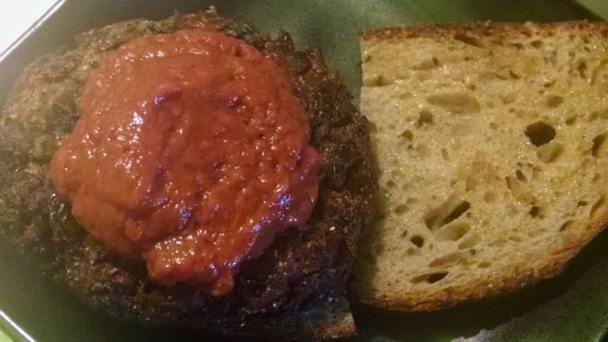 Savory Mushroom Burger 3