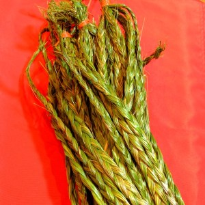Bundles of braided grass