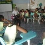 Dando clase en Brasil