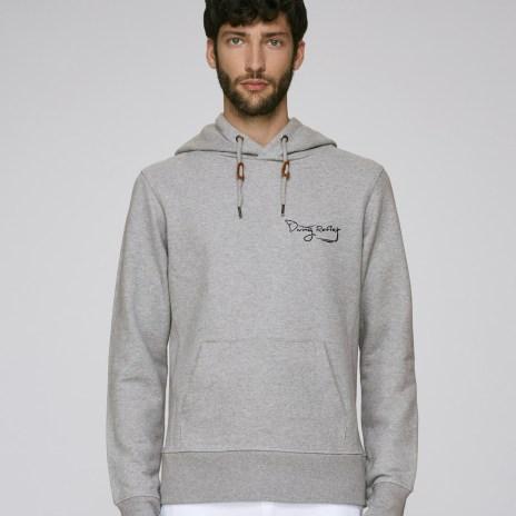 Tee-shirt gris pour hommes avec le logo Diving Reflex