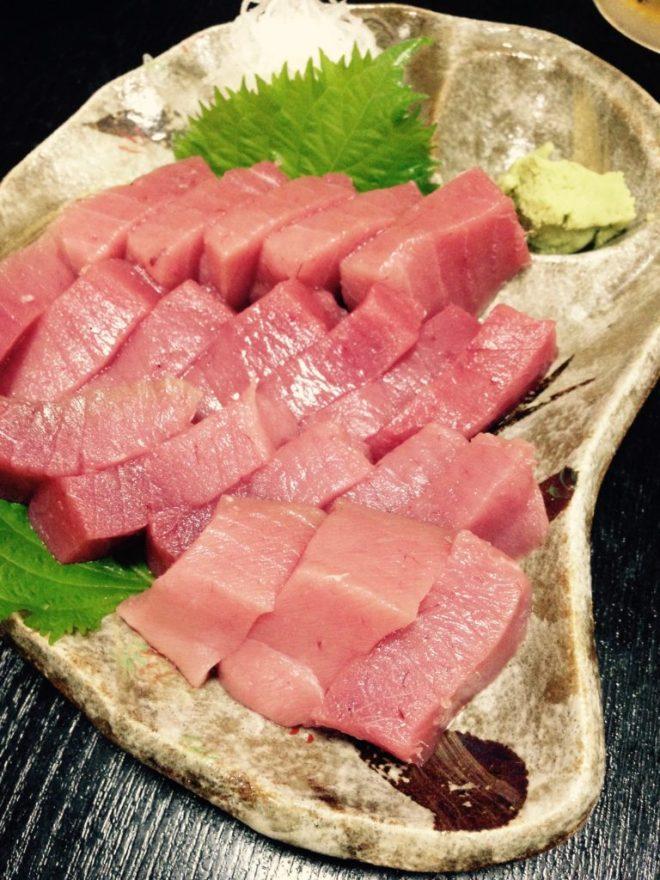 串本のマグロは美味