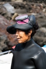 Haenyo (Sea Woman) at Jeju Island, South Korea (GNU)