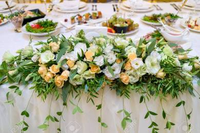 Wedding Flower Collections To Decor Wedding Tables