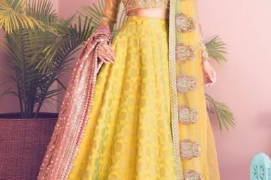 Dresses for Mehndi