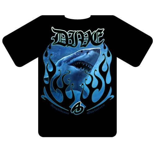 Tricou Amphibious Outfitters Blue Flame