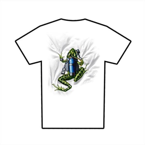 Tricou Amphibious Outfitters Scuba Frog