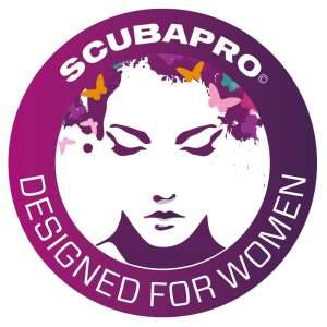 Scubapro logo - Designed for Women