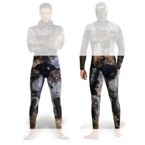 Costum neopren O.ME.R. MIX 3D - pantaloni