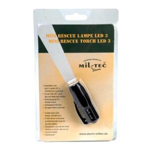 Lanterna mini Mil-Tec, led
