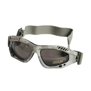Ochelari protecție Mil-Tec Commando Smoke, AT-Digital