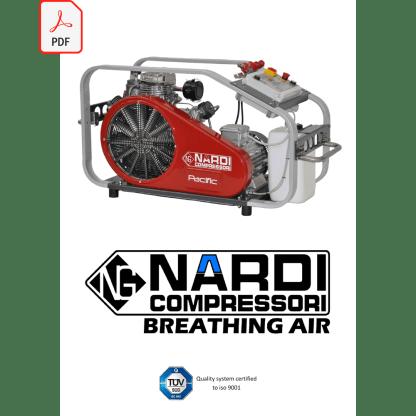 Catalog Nardi, compresoare aer respirabil, lb. engleză