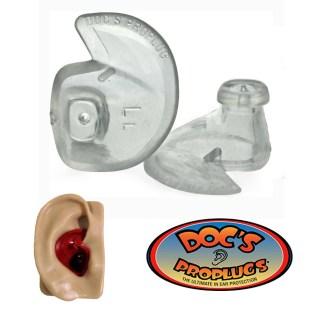 Dopuri pentru urechi, Doc's ProPlugs, transparente