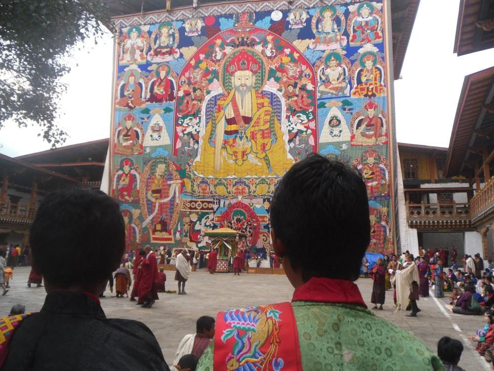 Colourfull Bhutanese festival  (1/2)