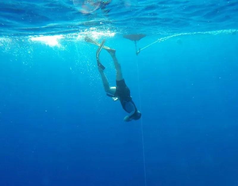 Freediver AIDA 2
