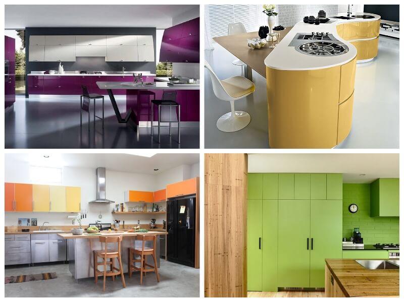 Cambiar puertas armario cocina forrar los armarios de la cocina con vinilo de colores vibrantes - Cambiar cocina con vinilo ...