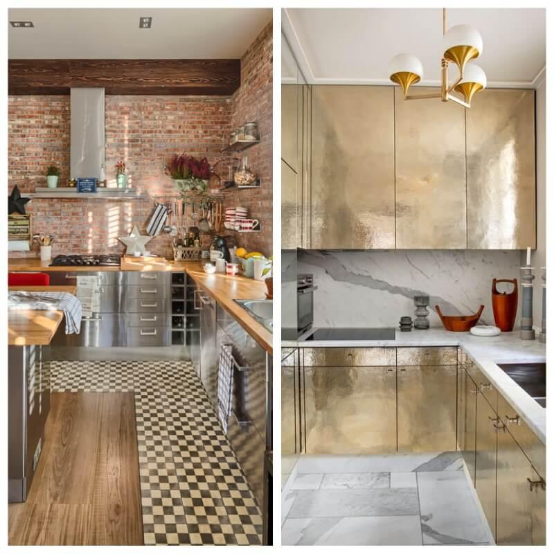 Forrar los armarios de la cocina con vinilo (tendencias septiembre 2018)