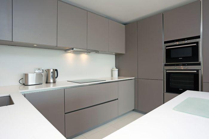 color gris como tendencia en cocinas