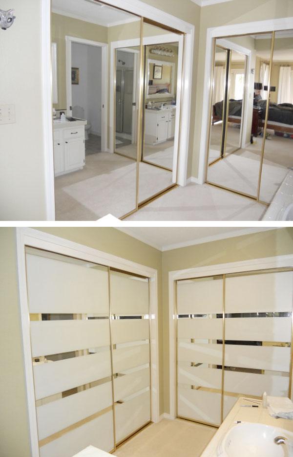 forrar con vinilo las puertas de los armarios