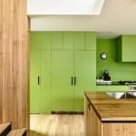 Renueva la cocina con vinilo de color Greenery, el color del 2017 de Pantone
