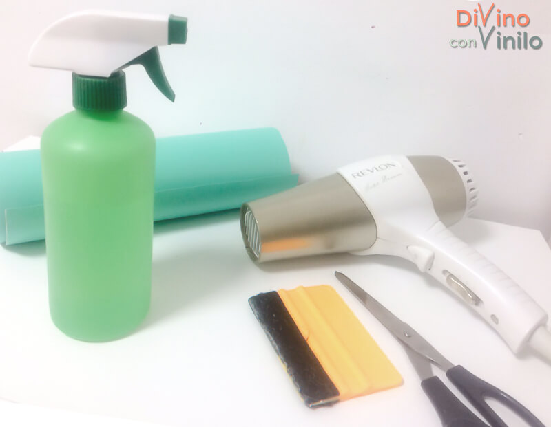 materiales para forrar con vinilo esquinas redondeados