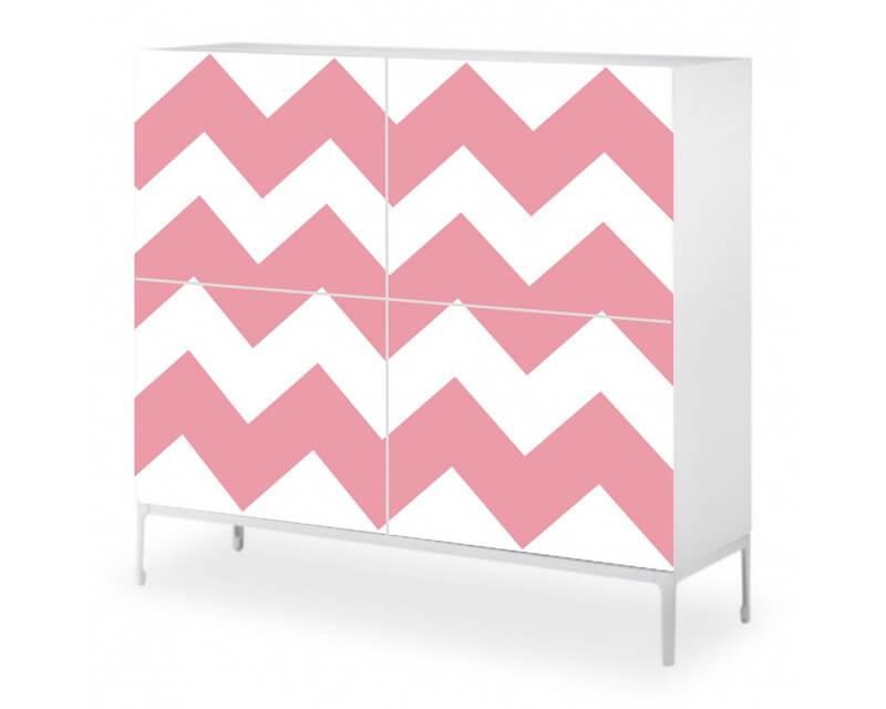 decorar muebles de Ikea con vinilo adhesivo