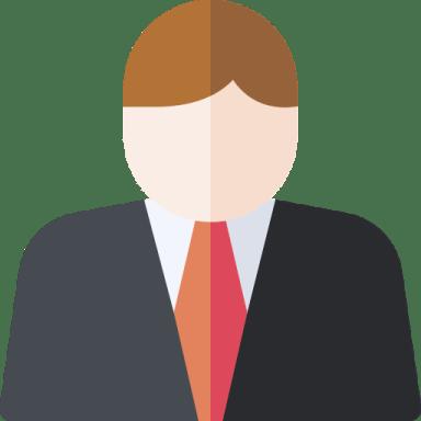 ilustração de uma pessoa vestindo terno e gravata