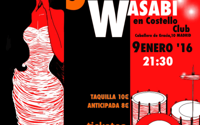 SWEET WASABI En Costello Club