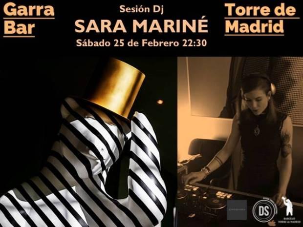 SARA MARINÉ Dj @ GARRA bar (Hotel Torre de Madrid) | Madrid | Comunidad de Madrid | España