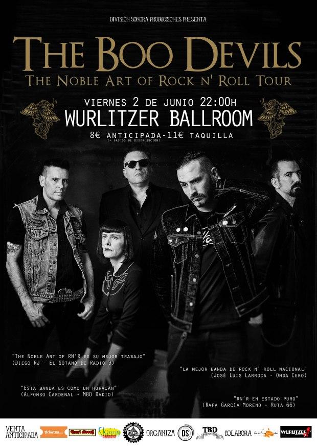 The Boo Devils @ Wurlitzer Ballroom | Madrid | Comunidad de Madrid | España