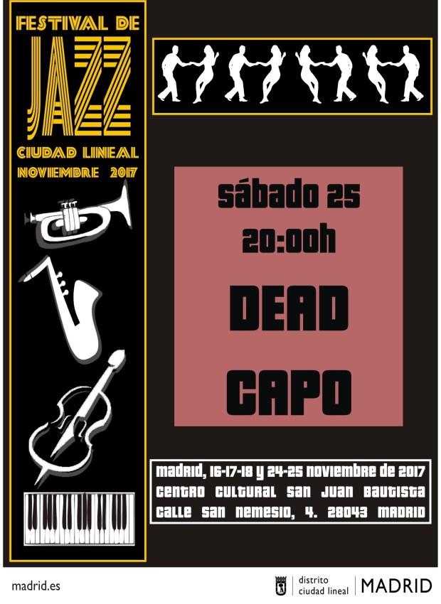 DEAD CAPO (Ciclo de Jazz Ciudad Lineal) @ CC San Juan Bautista | Madrid | Comunidad de Madrid | España