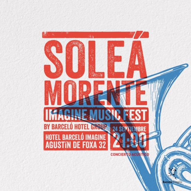 SOLEÁ MORENTE en acústico - IMAGINE MUSIC FEST - CANCELADO @ Hotel Barceló Imagine