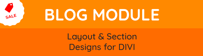 PixelThemes Blog Sections -Layout and Section designs for Divi