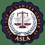 To 40 Lawyers Under 40 ASLA
