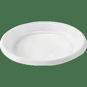 Тарелка Ø220мм белая 100 шт