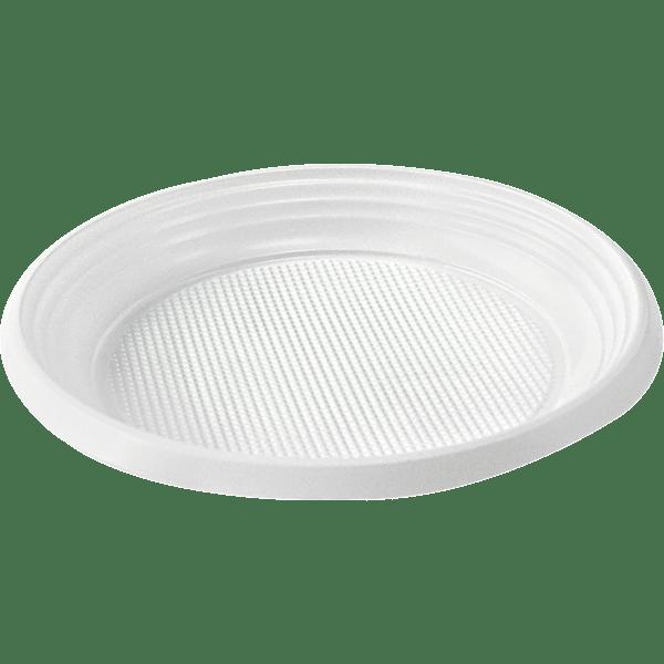 Тарелка Ø205мм белая 50 шт