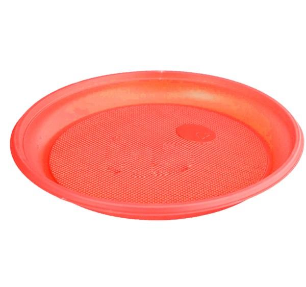 Тарелка Ø165мм красная 100 шт