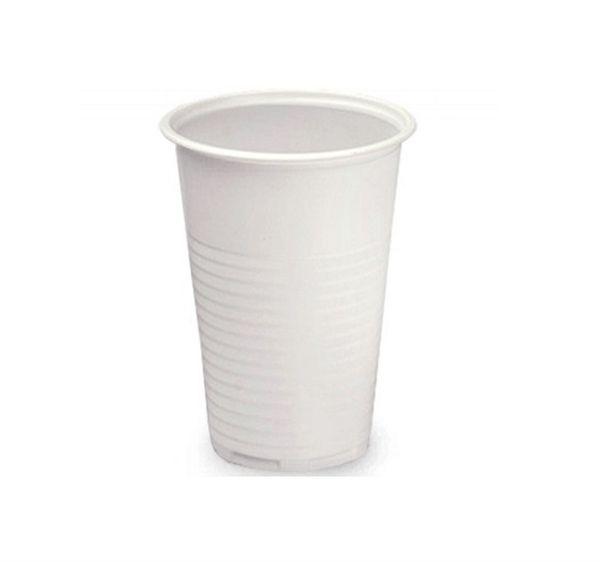 Одноразовый стакан 200 мл белый 100 шт