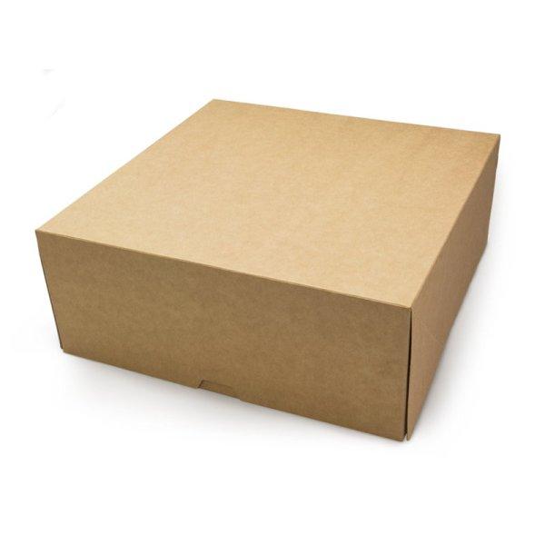 ДоЭко контейнер под десерт ECO CAKE 6000 255х255х105 (75шт)