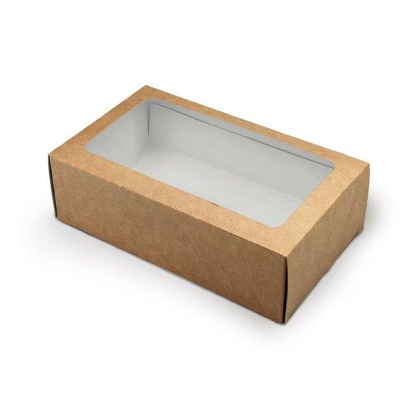 ДоЭко контейнер универ TABOX 1000 PRO 200х120х40мм с окном (200шт)