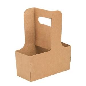 ДоЭко держатель картонный для 2-х стаканов Cupholder (350шт)