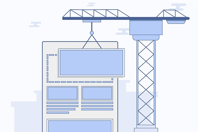 Responsive design site content layout construction