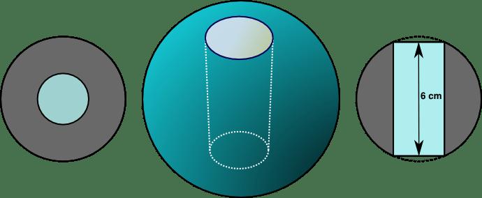 vistas de la esfera agujereada
